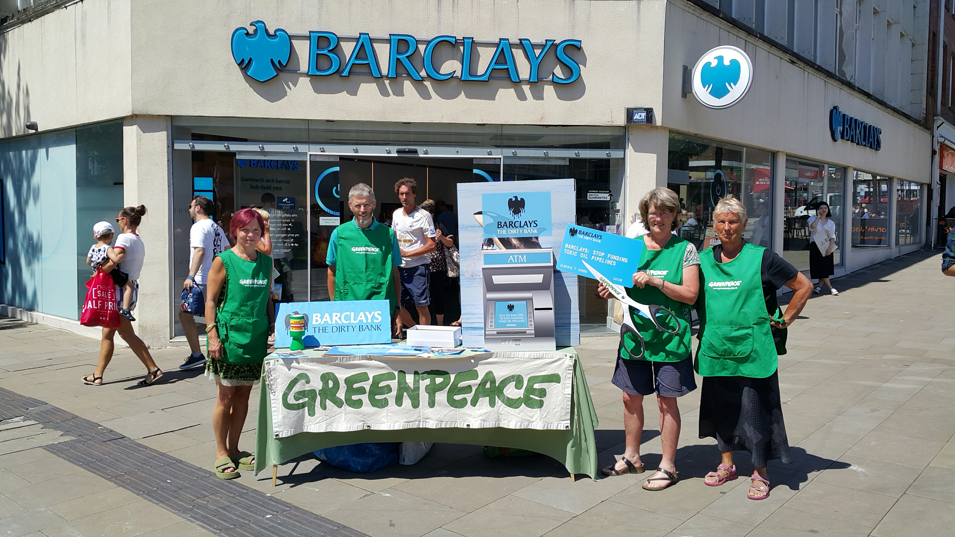 Image for Alison from Swansea – Why I'm asking Barclays to stop funding tar sands pipelines
