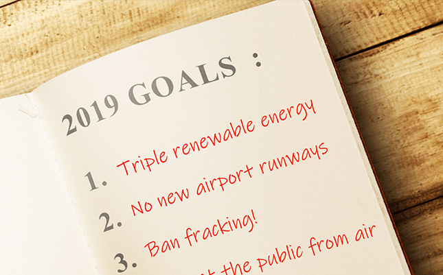 Image for 10 Green New Year's Resolutions for the Government
