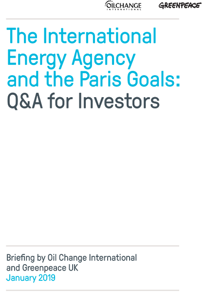 Image for The International Energy Agency and the Paris Goals: Q&A for Investors