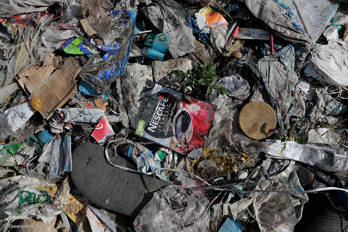 Nestlé: slay the plastic monster you created | Greenpeace UK