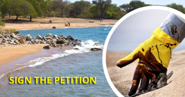 Oil pollution petition call to action