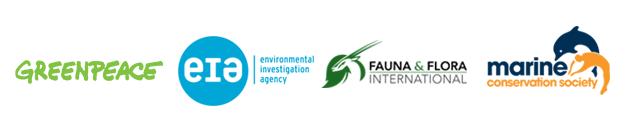 Environmental charity logos