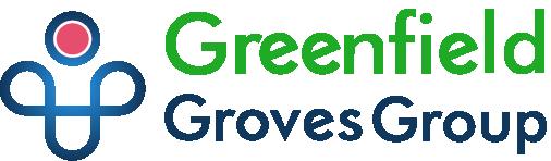 greenfield groves, lindsay giguiere, website logo
