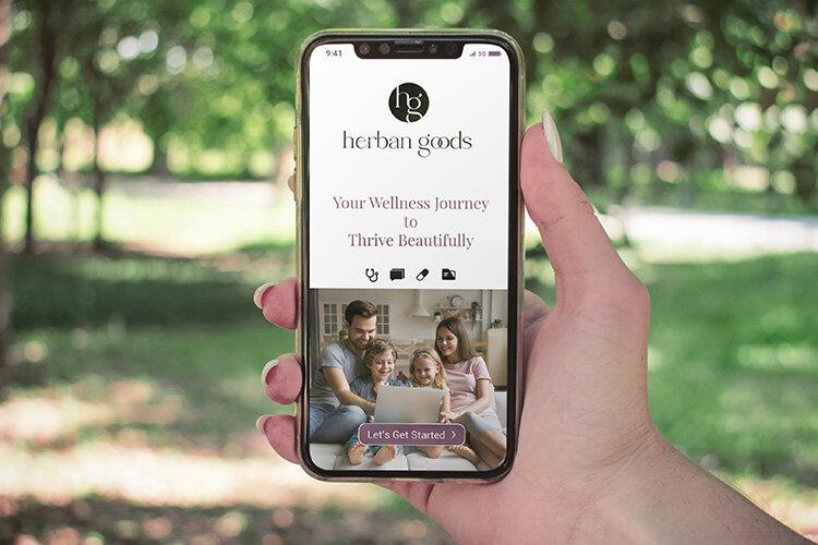 lindsay giguiere, herban goods, telehealth app