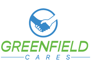 lindsay giguiere, greenfield cares logo