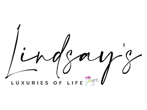 lindsay giguiere, luxuries of life logo