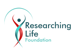 lindsay giguiere, researching life foundation logo