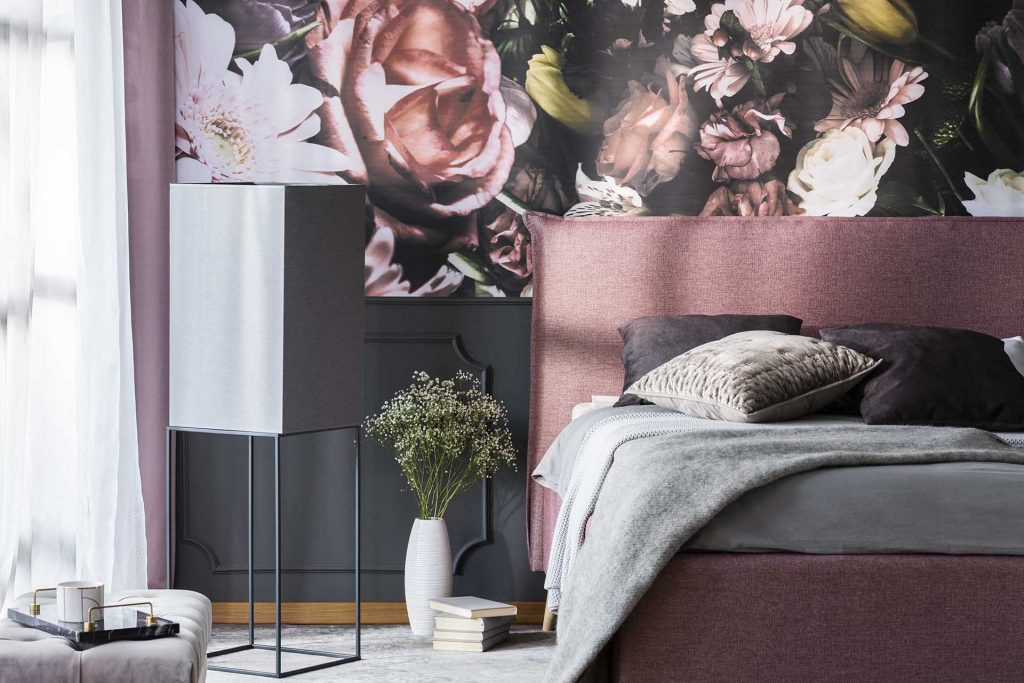 lindsay giguiere, floral wallpaper favorite