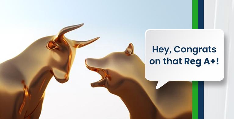 lindsay giguiere, regulation a+, mini-ipo, stock, bull, bear