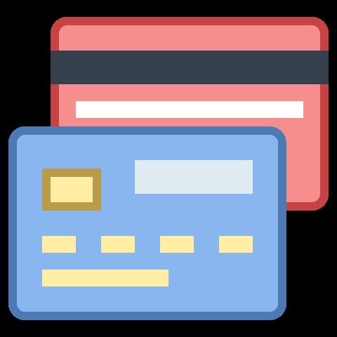 Controle taxas de cartões