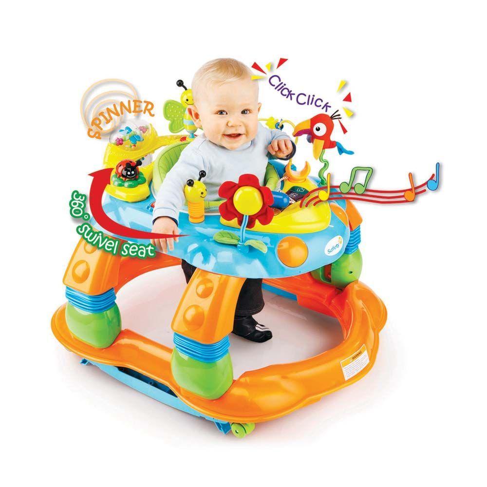 Andador de Bebê Musical Colorido Melody Garden Safety 1st**