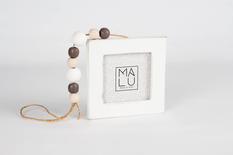 Mobile Porta Retrato Quadrado Branco