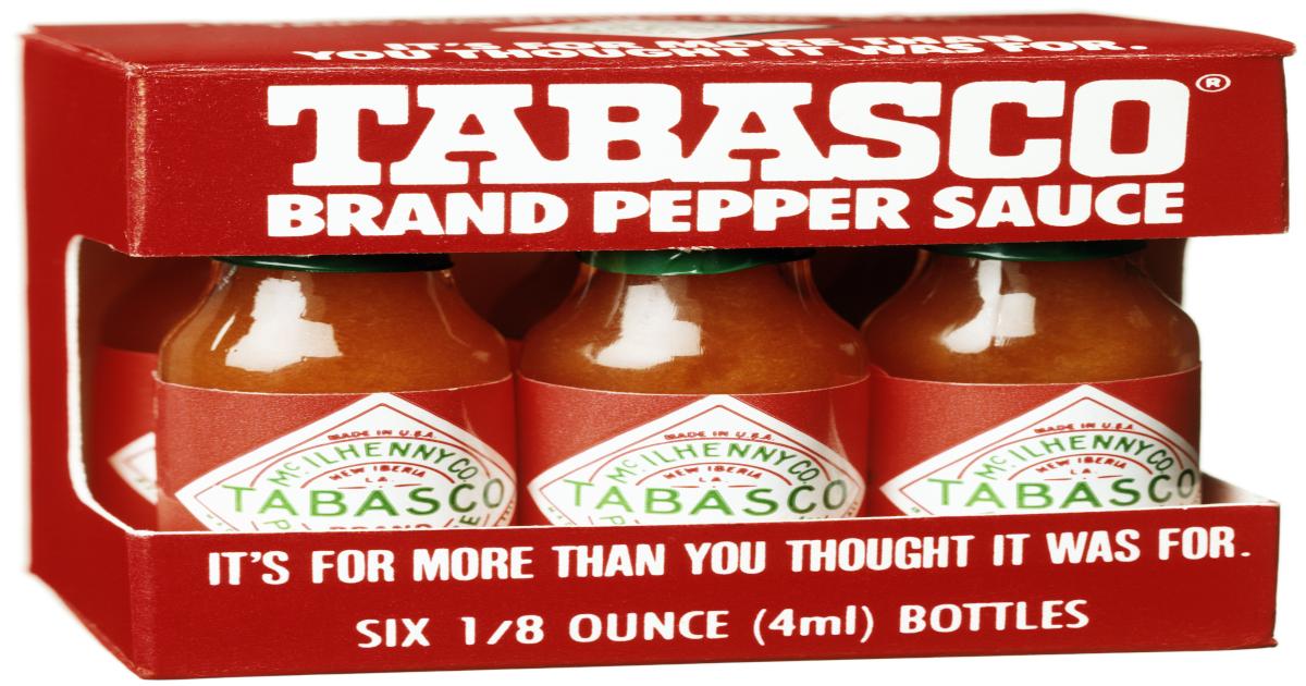 Iconic brands: McIlhenny's Tabasco Sauce
