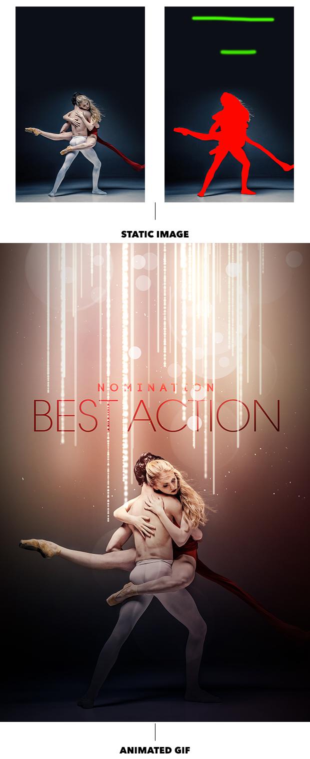 Gif Animated Award Effect Photoshop Action - 13