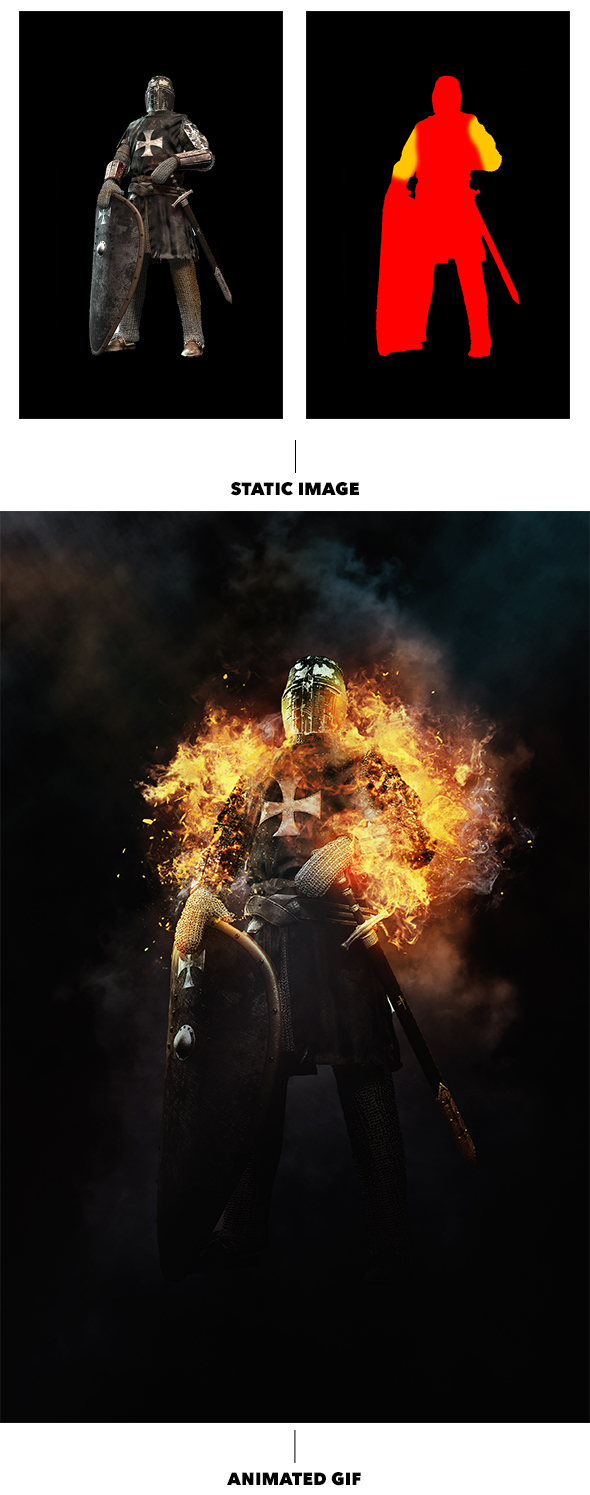 Gif Animated Fire Photoshop Action - 15