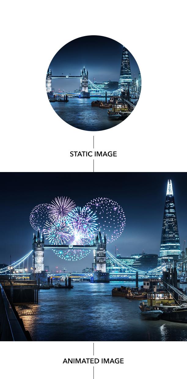 Gif Animated Fireworks Photoshop Action - 22