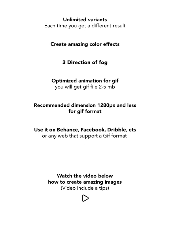 Gif Animated Fog Photoshop Action - 18