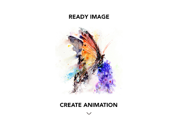 Gif Animated Watercolor and Ink Effect Photoshop Action - 18