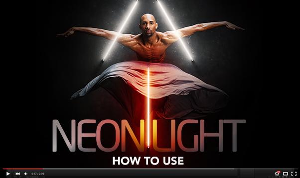 Gif Animated Neon Light Photoshop Action - 19