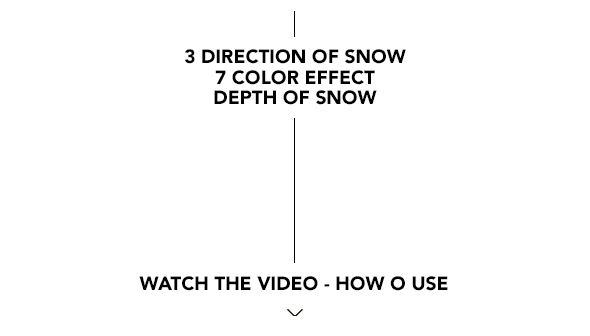 Gif Animated Snow Photoshop Action - 32