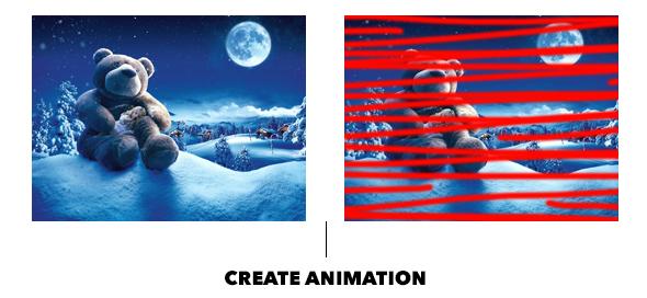 Gif Animated Snow Photoshop Action - 28
