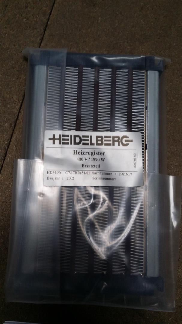 HEIDELBERG HEATER