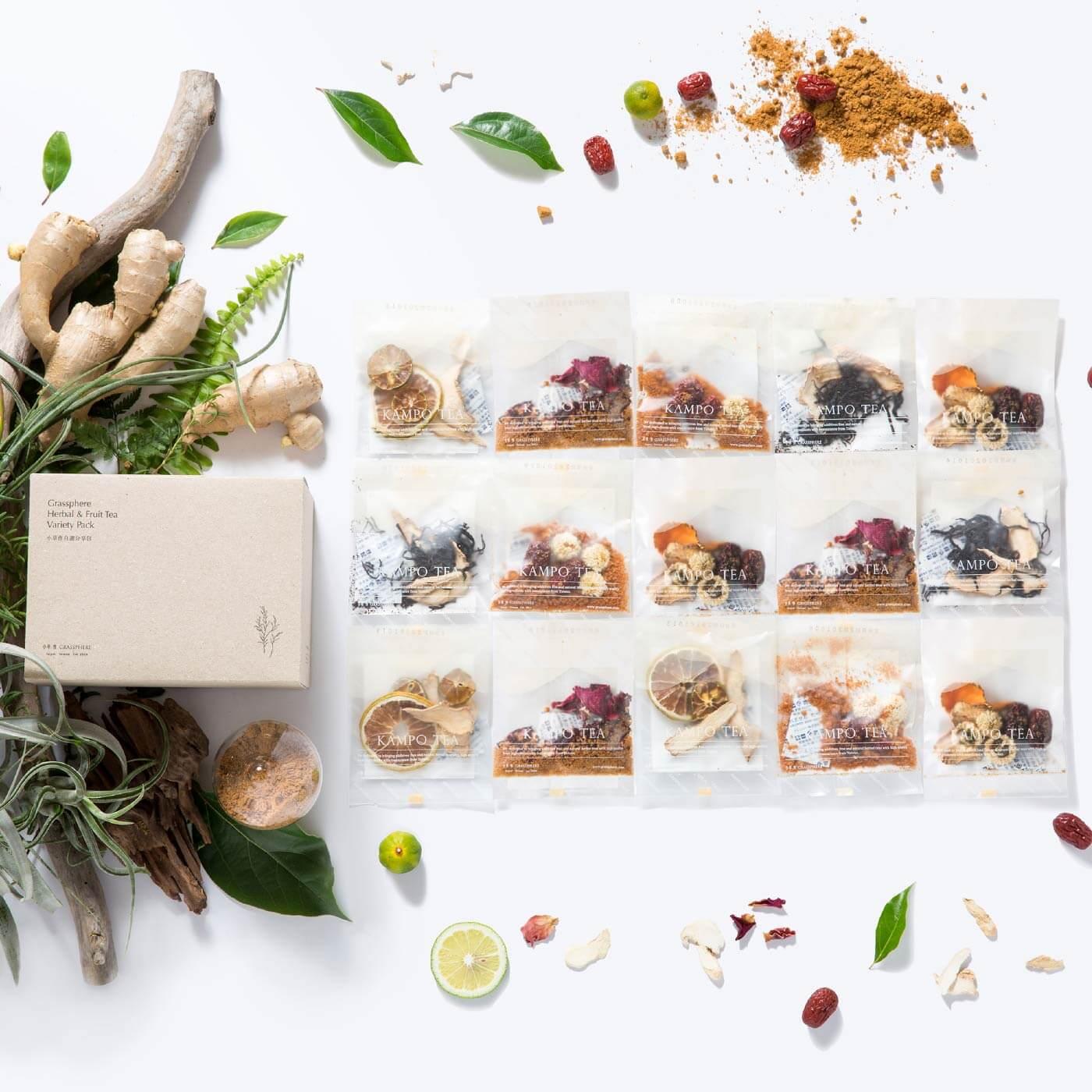 漢方植物茶15入綜合組
