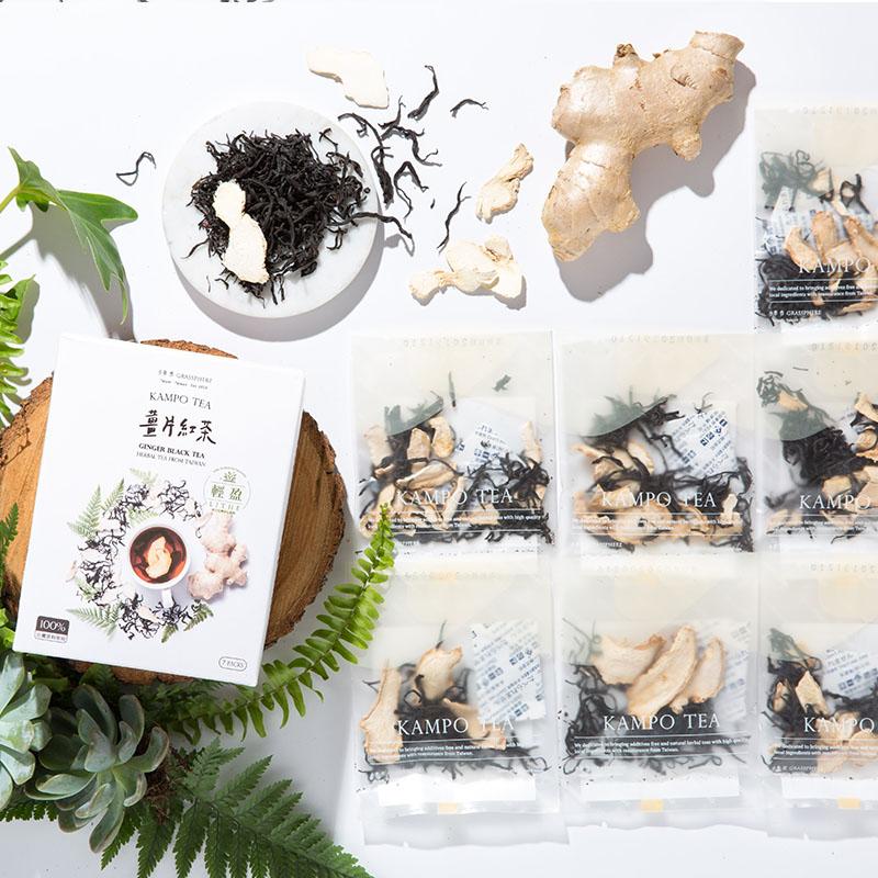 【輕盈86折】5組|薑片紅茶7入