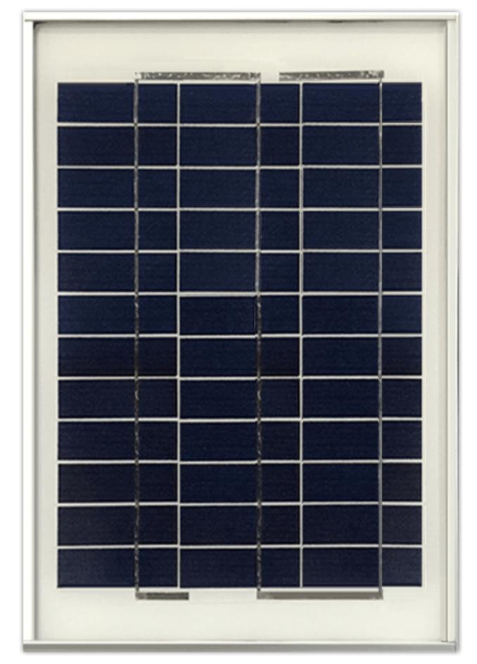 Ameresco BSP10-12 10w Silver Poly 12 Volt Solar Panel