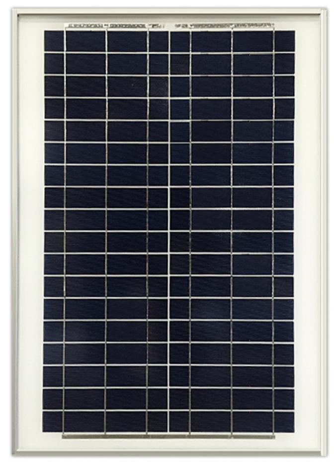Ameresco BSP20-12 20w Silver Poly 12 Volt Solar Panel