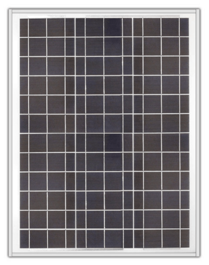 Ameresco BSP40-12 40w Silver Poly 12 Volt Solar Panel