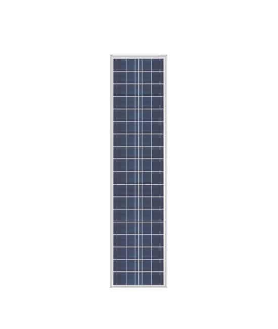 Ameresco BSP55-12L 55w Silver Poly 12 Volt Solar Panel