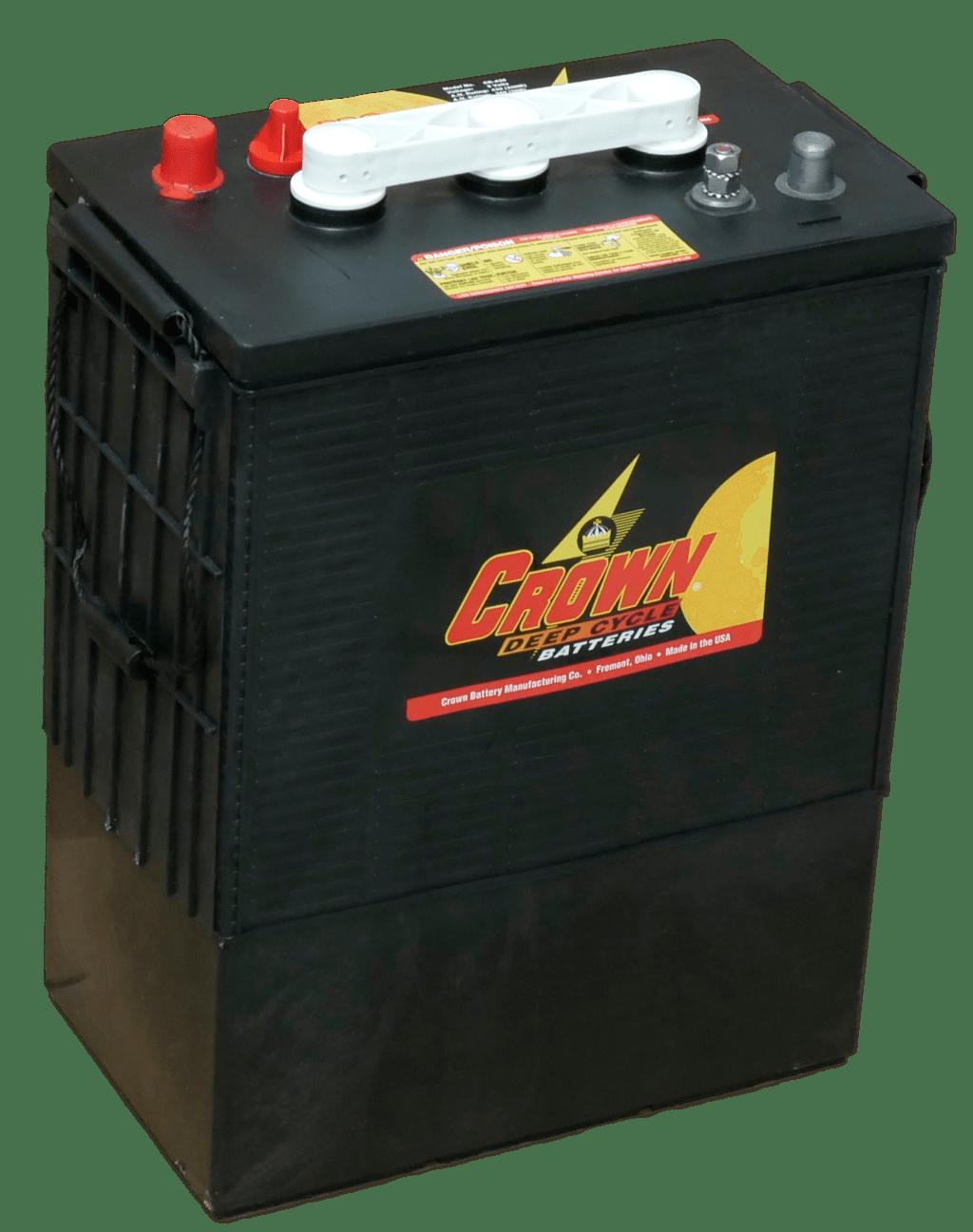 Crown 860 AH 12 VDC 10,320 Wh (4) Battery Bank