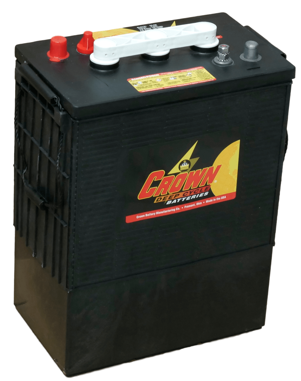Crown 860AH 24VDC 20,640 Wh (8) Battery Bank