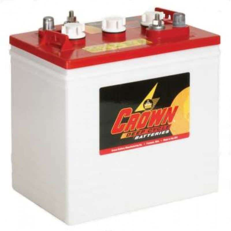 Crown CR235, 6V Flooded Battery