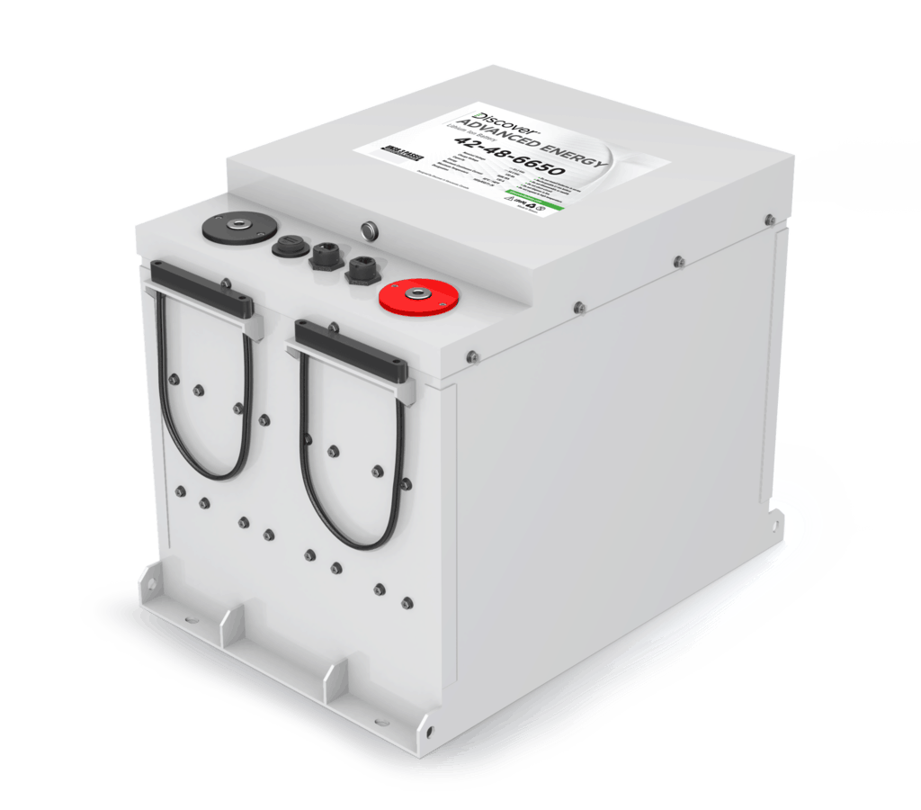Discover Battery 520AH 48VDC w/ Xanbus 26,400 Wh (4) Lithium Battery Bank
