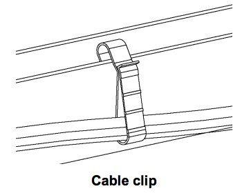 Enphase IQ Cable Clip single Q-CLIP
