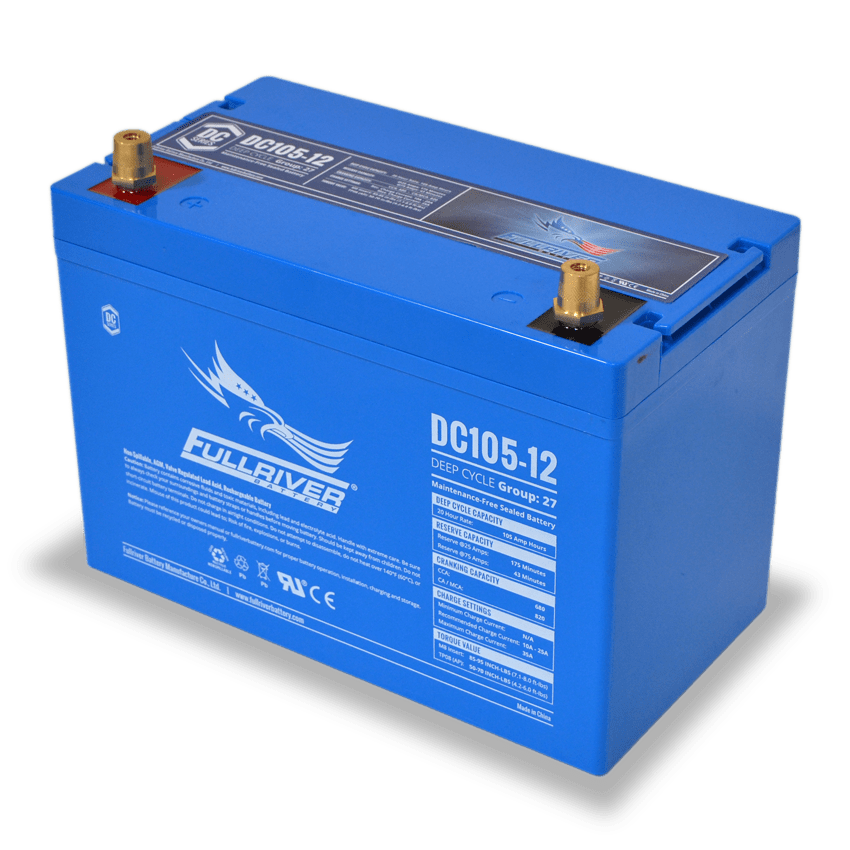 Fullriver DC105-12 AGM Sealed 12V 105Ah Battery