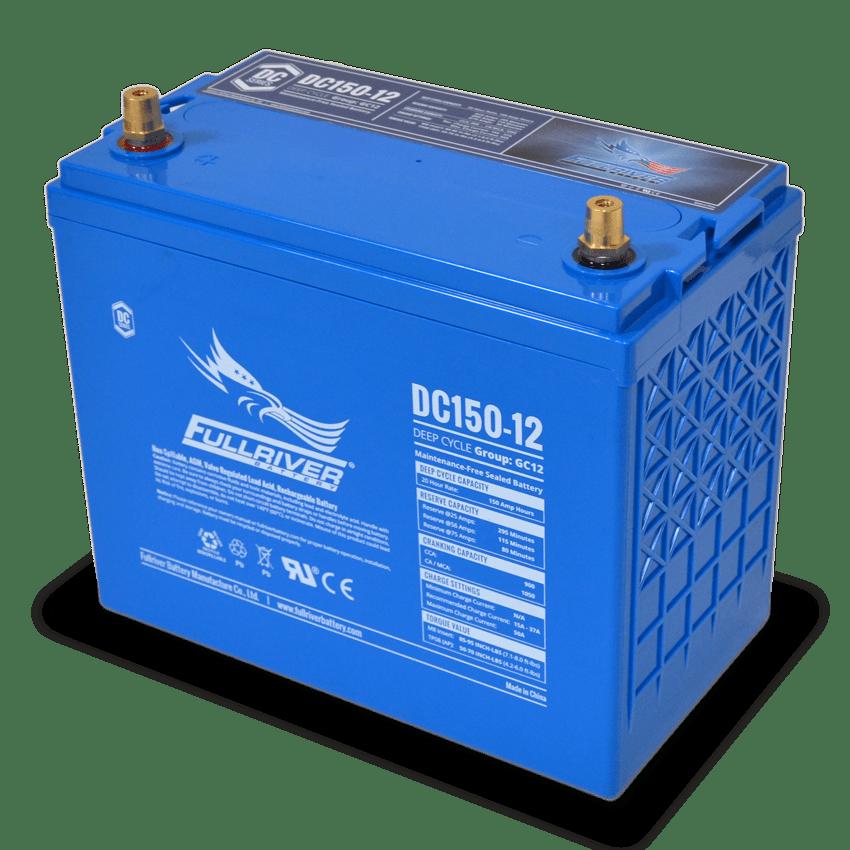 Fullriver DC150-12 AGM Sealed 12V 150Ah Battery