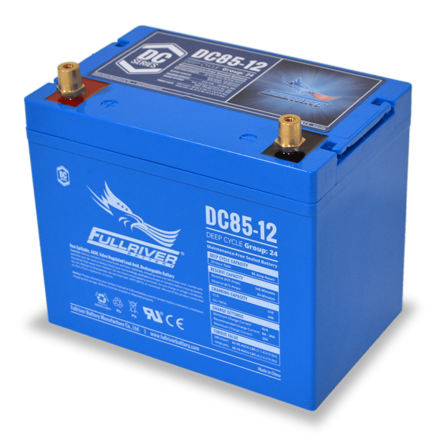 Fullriver DC85-12 AGM Sealed 12V 85Ah Battery
