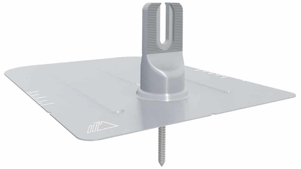 IronRidge FlashFoot 2 Kit Single, Silver Bonded