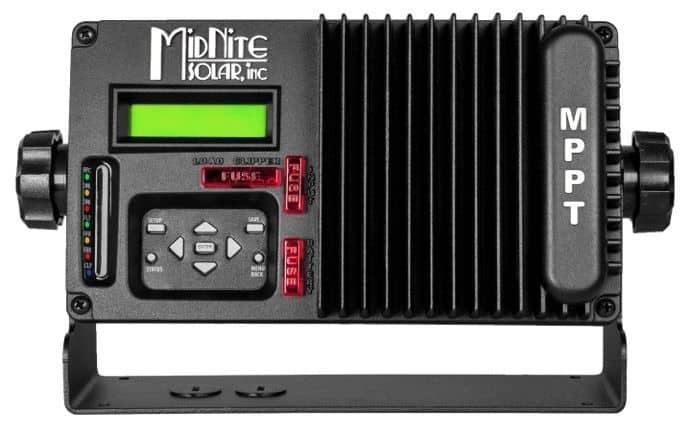 MidNite Solar Kid 30a Marine MPPT - Black - MNKID-M-B Charge Controller
