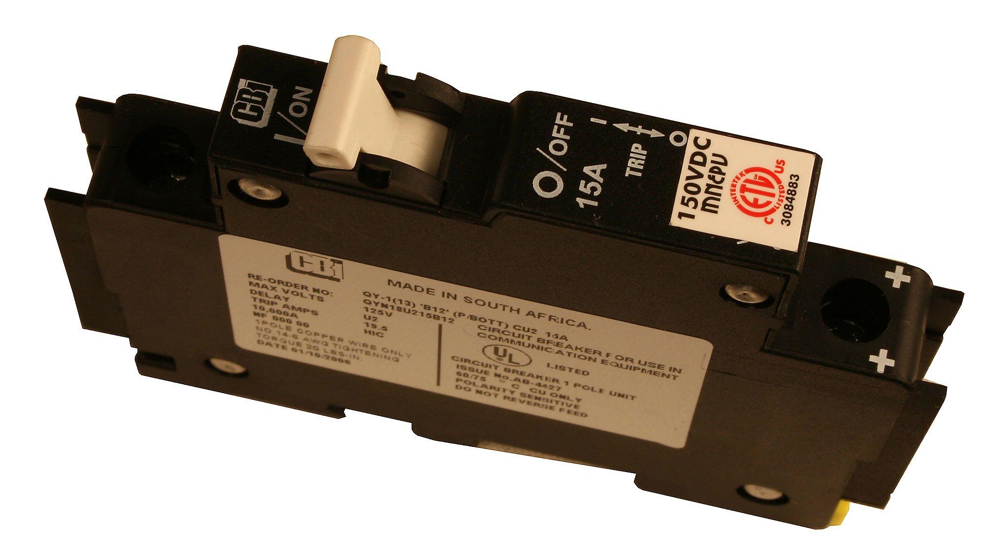 Midnite Solar Inc: DIN Mount Circuit Breaker (MNEPV50)