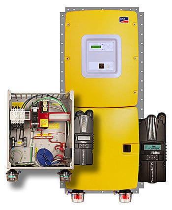 MidNite Solar MNSI6048-CL150 Sunny Island w/ Classic 150 Power Center