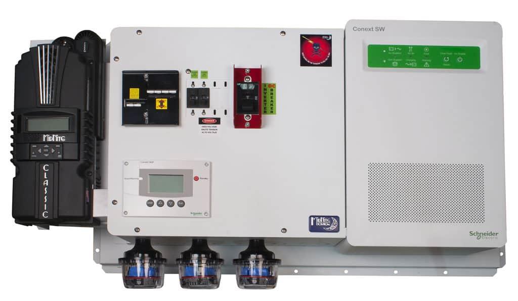 MNSW4024-CL150 Schneider Pre-wired Power Center