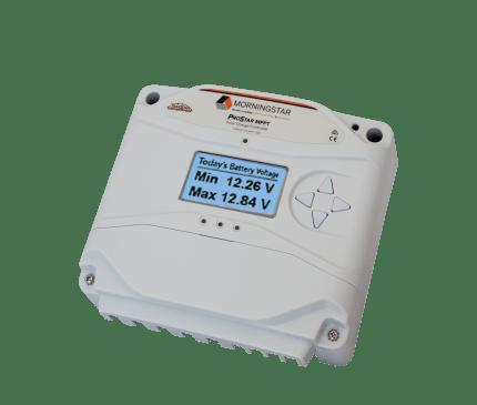 Morningstar Corp: Morningstar, ProStar MPPT Charge Controller, 25A, 12/24V, PS-MPPT-25-M