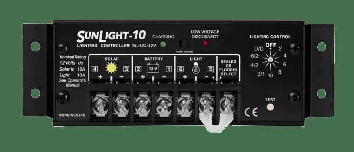 Morningstar Corporation SunLight SL-10L-12V Charge Controller