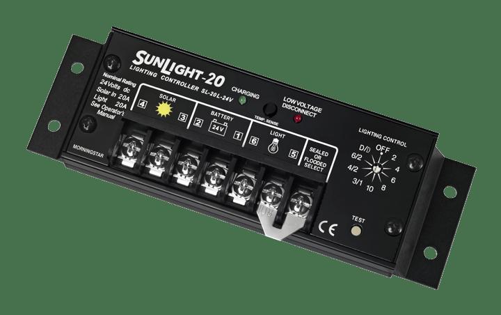 Morningstar Corporation Sunlight SL-20L-24V Charge Controller