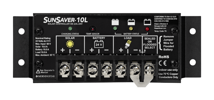 Morningstar Corporation SunSaver SS-10L-24V  Charge Controller
