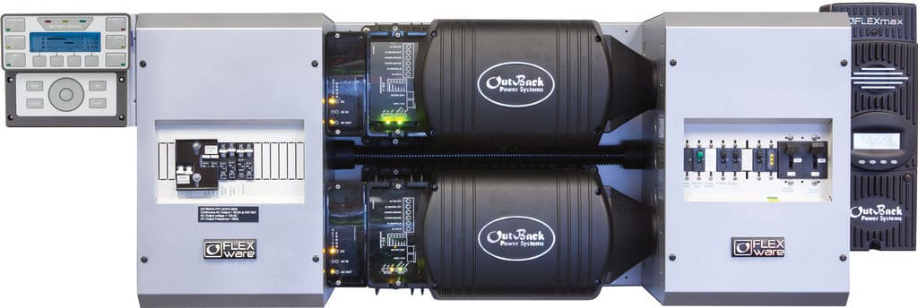 Outback Power FP2 VFXR3648A-01 w/ 2 FM80s FLEXpower TWO Power Center